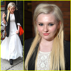 Abigail Breslin: Tribeca Welcome Lunch