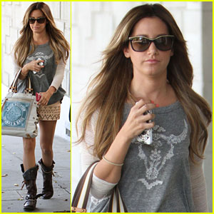 Ashley Tisdale: Beverly Hills Shopper