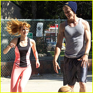 Bella Thorne: Basketball Game with Tristan Klier