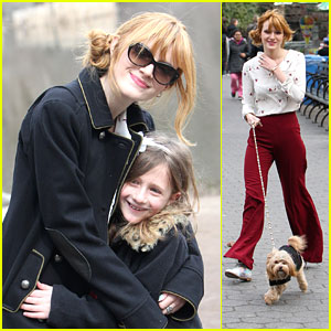 Bella Thorne: Central Park Walk with Kingston