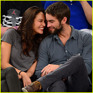 Chace Crawford & Rachelle Goulding: Knicks Game Night!