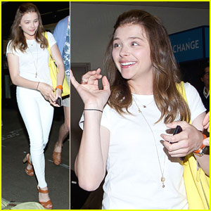 Chloe Moretz: Back in LA After Cancun Trip