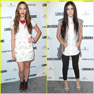 Christa B. Allen &#038; Isabelle Fuhrman: 'London Show Rooms LA' Event