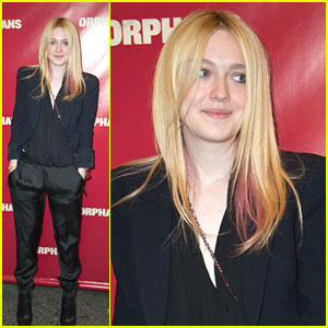 Dakota Fanning: 'Orphans' Opening Night