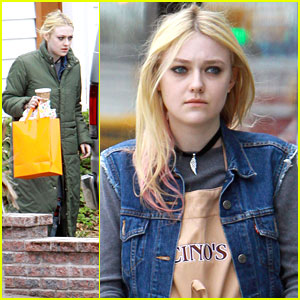 Dakota Fanning: 'Every Secret Thing' Set