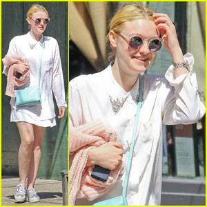 Dakota Fanning: SoHo Sweetheart