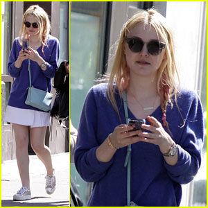 Dakota Fanning: West Village Cu
