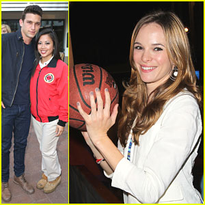 Danielle Panabaker &#038; Daren Kagasoff: City Year Spring Break!