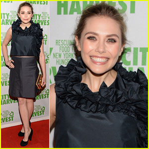 Elizabeth Olsen: City Harvest Evening Benefit