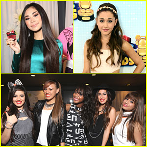 Fifth Harmony: Radio Disney Music Awards 2013 with Ariana Grande & Jessica Sanchez