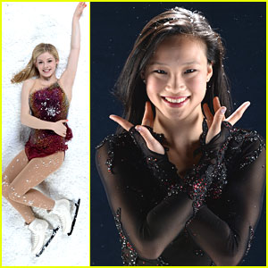 Gracie Gold &#038; Christina Gao: Road To Sochi Portraits!