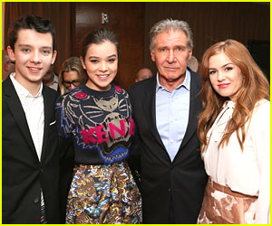Hailee Steinfeld &#038; Asa Butterfield: Lionsgate Press Conference During CinemaCon 2013