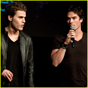 Ian Somerhalder &#038; Paul Wesley: 'Vampire Diaries' Convention Duo