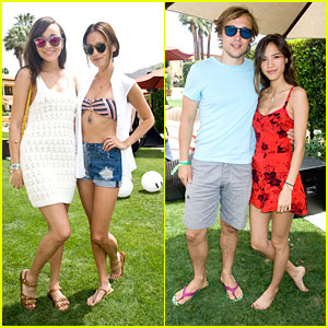 Jamie Chung, Ashley Madekwe &#038; Kelsey Chow: Just Jared/Armani Exchange Music Festival Brunch