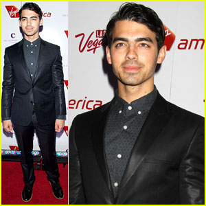 Joe Jonas: Virgin America Launch Party