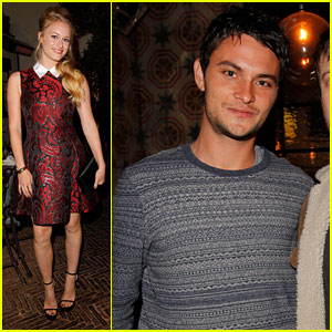 Leven Rambin &#038; Shiloh Fernandez: Allure Magazine Party