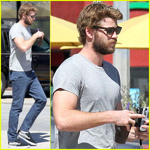Liam Hemsworth: Coffee Bean Break