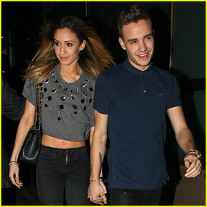 Liam Payne & Danielle Peazer: Hand-Holding Date Night!