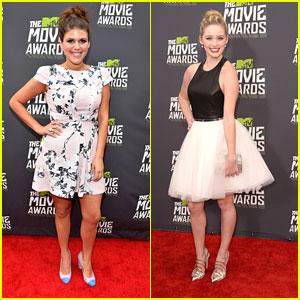 Greer Grammer & Molly Tarlov -- MTV Movie Awards 2013