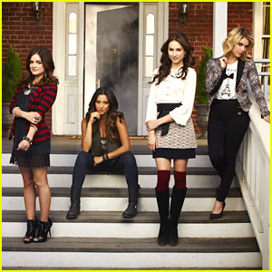 Lucy Hale &#038; Troian Bellisario: 'Pretty Little Liars' Season Four Promo Pics!