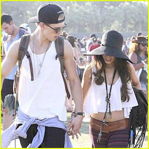 Vanessa Hudgens & Austin Butler: Last Day at Coachella!