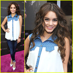 Vanessa Hudgens: Madonna Pop Up Exhibit