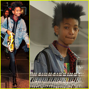Willow Smith: America Apparel Shopper