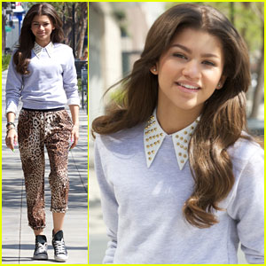 Zendaya: I Was Honored to Meet Demi Lovato!