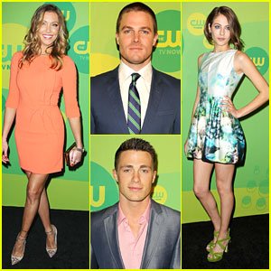Colton Haynes &#038; Willa Holland: 'Arrow' at CW Upfronts 2013