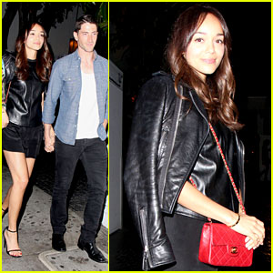 Ashley Madekwe & Iddo Goldberg: Cute Chateau Couple