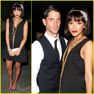 Ashley Madekwe: 'Gatsby' Party with Iddo Goldberg!