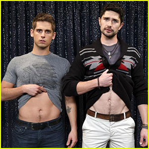 'Baby Daddy' Cast Shows Off Their Abs in Behind-the-Scenes Pics!