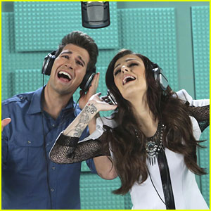 Cher Lloyd on Big Time Rush -- See The Pics!