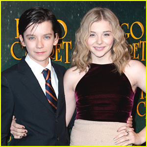 Chloe Moretz & Asa Butterfield Reunite for 'White Circus'