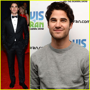 Darren Criss: Z100 Radio Visit