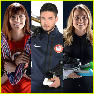 Eddy Alvarez, Heather Richardson & Jessica Smith: USOC Speed Skating Portraits!