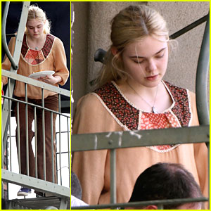 Elle Fanning Starts Filming 'Low Down'