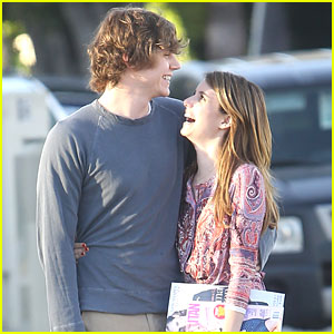 Emma Roberts & Evan Peters: Magazine Run