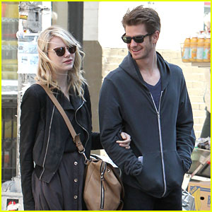 Emma Stone & Andrew Garfield: New York City Stroll