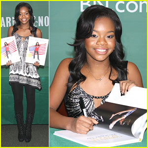 Gabby Douglas: 'Raising The Bar' Signing in NYC