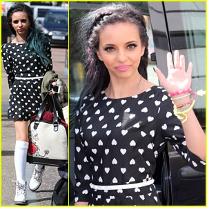 Jade Thirlwall: Hands Full at London Studio