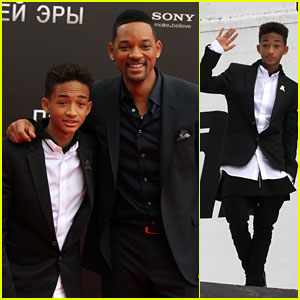 Jaden Smith: 'After Earth' Moscow Photocall!