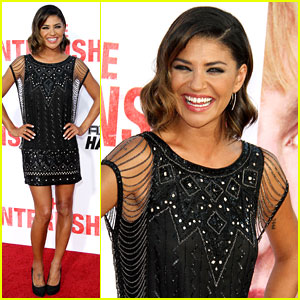Jessica Szohr: 'The Internship' Premiere Pretty