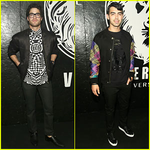 Darren Criss &#038; Joe Jonas: Versus Versace Guys