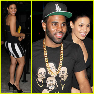 Jordin Sparks & Jason Derulo: 'YRB' Magazine Cover Party