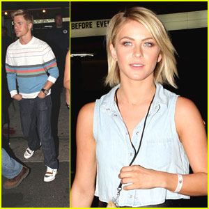 Julianne Hough & Brother Derek: Imagine Dragons Concert