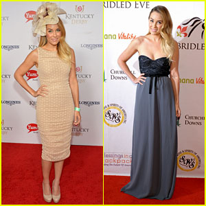 Lauren Conrad: Kentucky Derby Galas!