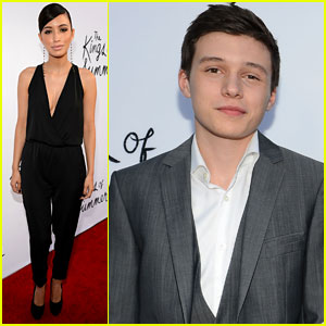 Nick Robinson & Christian Serratos: 'Kings of Summer' Screening