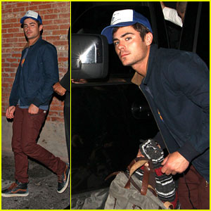 Zac Efron: 'Townies' Wrap Party!