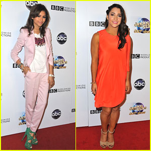 Zendaya &#038; Aly Raisman: 'Dancing With The Stars' 300th Celebration